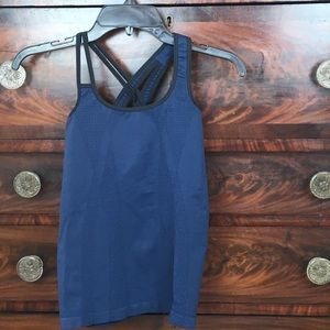 Nux Athletic tank top. Size M